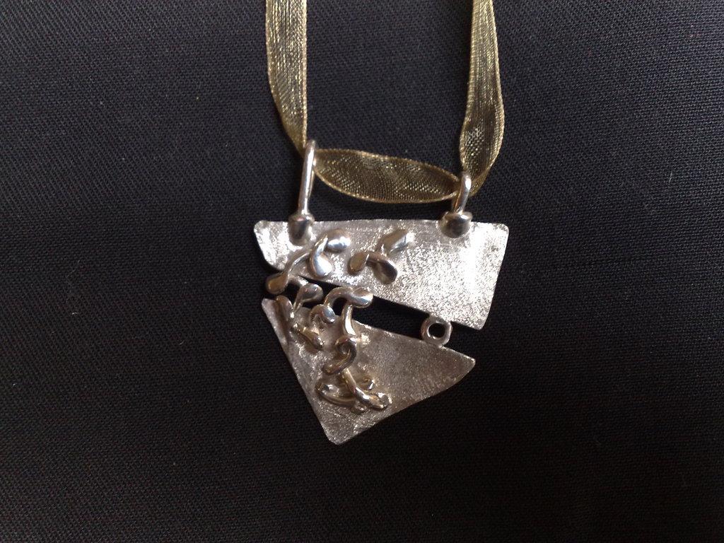 Pendente in argento (possibile parure)