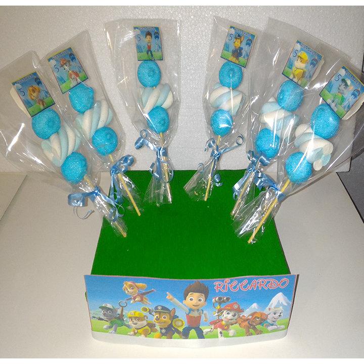 Spiedini in Marshmallow Minnie Baby _Personalizzati_NOME ANNI_