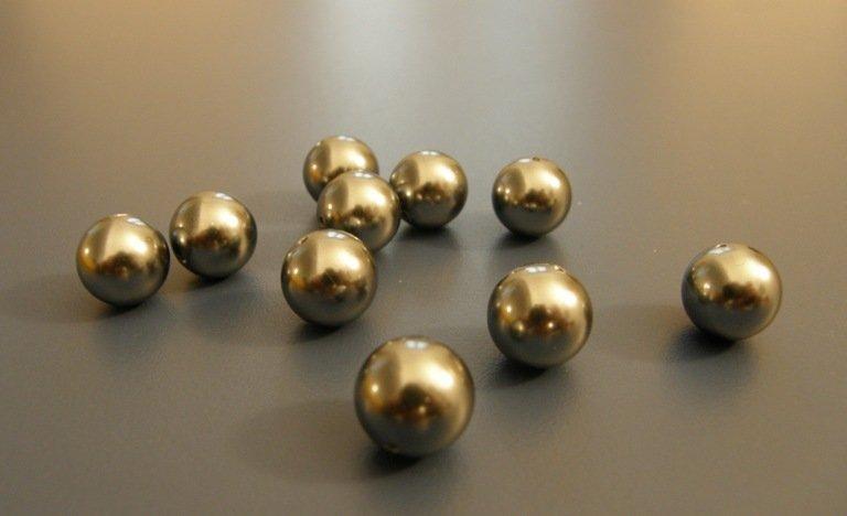 10 Perle grigie