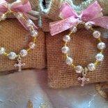 Bomboniere rosario comunione/ cresima