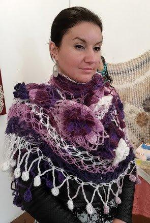 100% autentico diversamente colori delicati scialle di lana