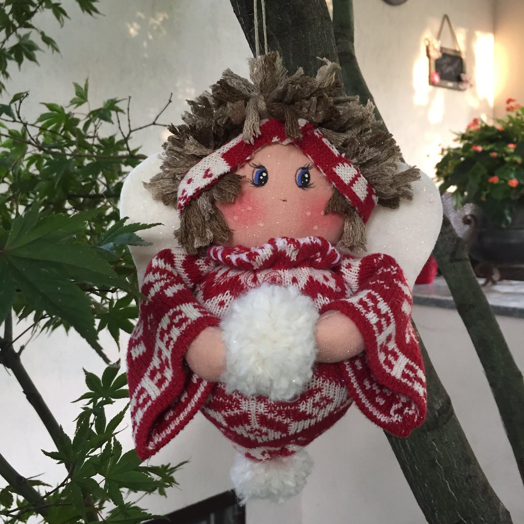 Natale - angelo della montagna