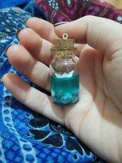 Ciondolo bottiglietta marina