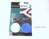 NOVITA'!Pasta Silgum per stampi (50g+50g) (cod.Pebeo)