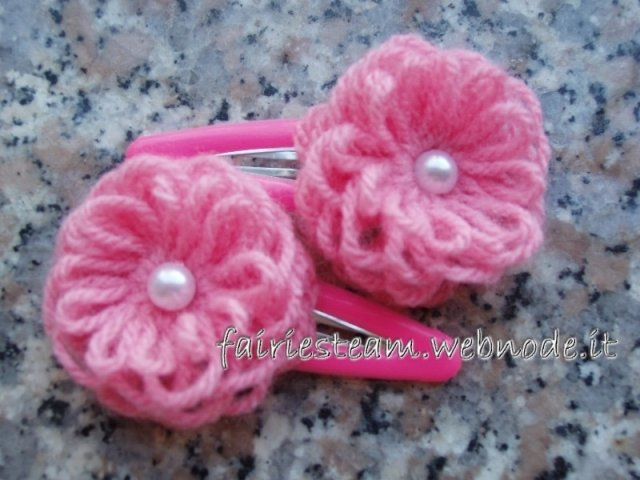 Mollette per capelli / hair clips