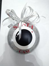 Decorazione natalizia santa cam