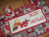 Copriforno tutto realizzato a mano; ottima idea regalo per Natale