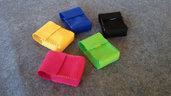 KIT di Portasigarette in pannolenci (5 pezzi) pacchetto standard da 20 sigarette,idee regalo!