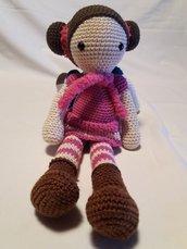 Bambola realizzata a mano....Carlotta