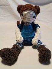Bambola realizzata con uncinetto ...Maria