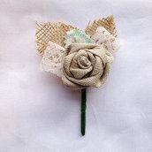 Boutonniere - fiore per occhiello