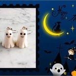 Orecchini a tema Halloween - Fantasmi