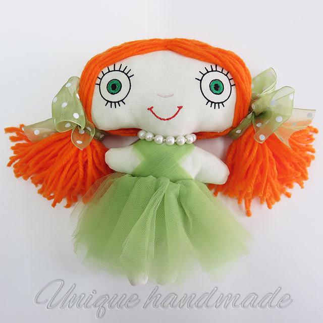 Bambola Principessa occhi verdi