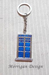 Portachiavi TARDIS Doctor Who - Police Box Blu