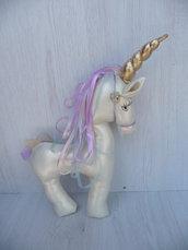 Giocattolo Unicorn, giocattolo morbido unicorno, giocattolo tessuto
