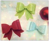Fiocchi decorazioni natalizie/addobbi