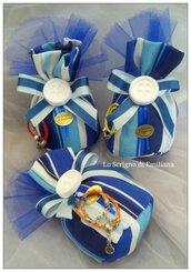 Bomboniera sacchetto confetti Compleanno gessetto profumato