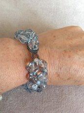 Bracciale in perle di cristallo