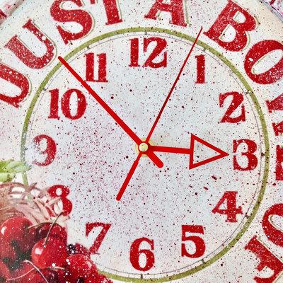 Orologio da Parete in Legno Artigianale Orologio Decoupage ...