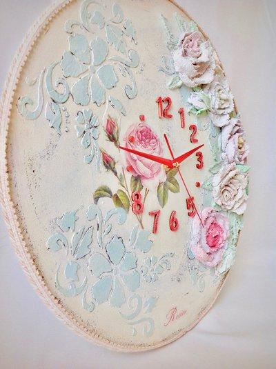 Grande orologio da parete orologio artigianale regalo for Idee per orologio da parete