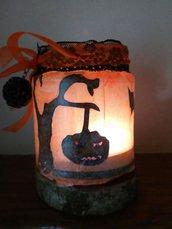 Lanterne portacandele di Halloween