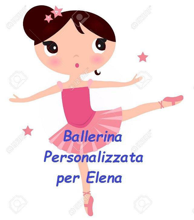 BALLERINA - Ordine Personalizzato per Elena