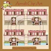 Clip Art per Banner, Scrapbooking, Decoupage - Negozio Fashion - IMMAGINI