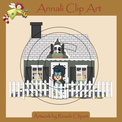Clip Art per Banner, Scrapbooking e Deoupage - Cottage - Boutique - IMMAGINI