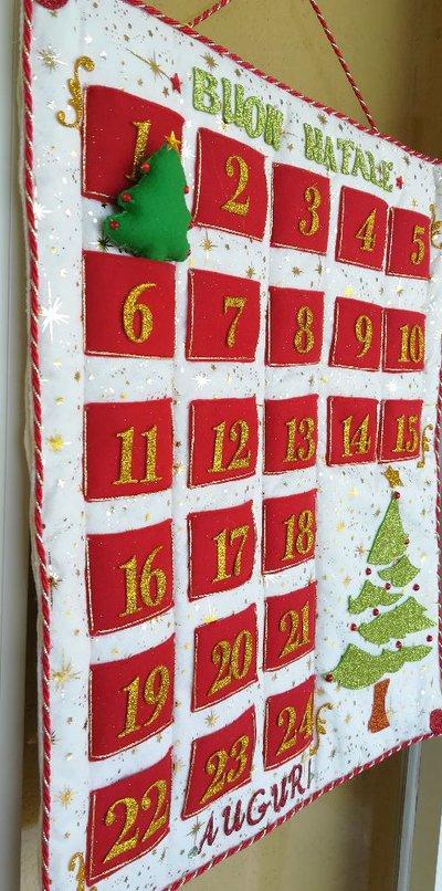 Super Calendario dell'avvento fatto a mano - Feste - Natale - di Idee  DD92