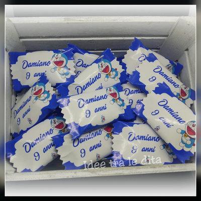 caramelle doraemon maschietto personalizzabili