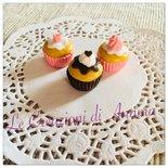 Mini cup cake realizzati in pasta di mais