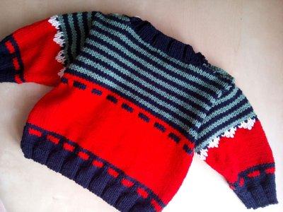 abbastanza Golfino ai ferrii neonato, maglia bimbo rossa - maglioncino SD88