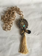 Ciondolo in soutache