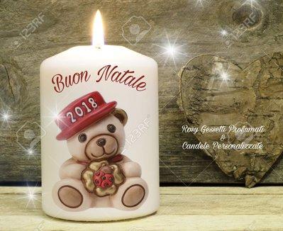 Immagini Natalizie Candele.Candele Personalizzate Natale