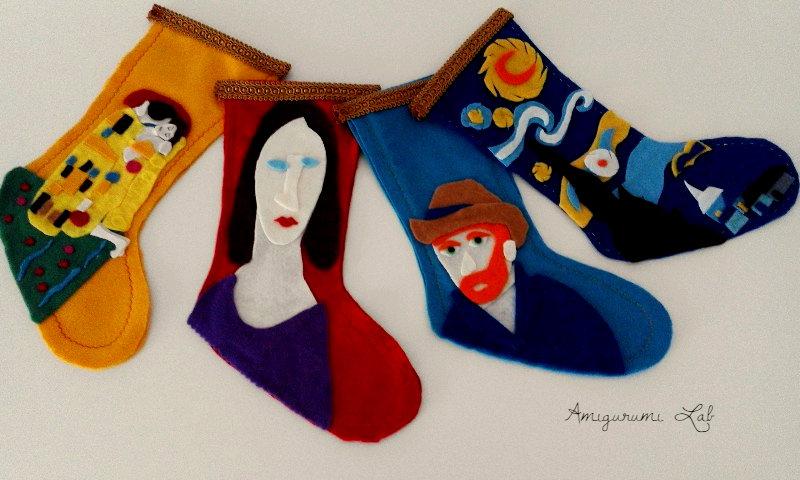 Calze befana Epiphany socks