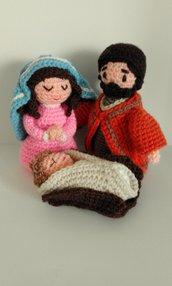 Natività-Presepe Natale realizzato a mano
