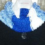 Sciarpa collana  scarf scaldacollo handmade  regalo donna