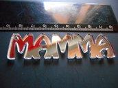 OUTLET - ciondolo MAMMA in plexiglass specchio argento