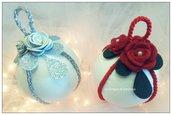 Sfere natalizie, addobbi Albero di Natale