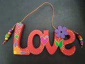 """""""Love"""" - Scritta decorativa"""