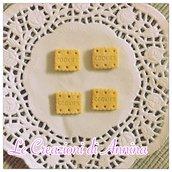 Biscotti cookies rettangolari classici realizzati in pasta di mais