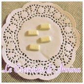 Miniatura tavoletta cioccolata Milk realizzata in pasta di mais