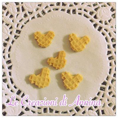 Miniature cialde topolino classiche - realizzate in pasta di mais