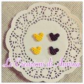 Miniature cialde topolino classiche e cioccolato - realizzate in pasta di mais