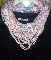 Collana-sciarpa scarf handmade