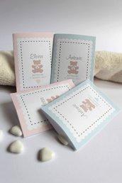 bustine porta confetti in carta per battesimo e sweet tables bustine per battesimo set tavolo dei dolci