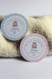 tags etichette bigliettini bomboniere rotondi grafica particolare ideata da epouse moi tondo tags orsetto tags teddy bears bigliettini orsetto bigliettini teddy bears