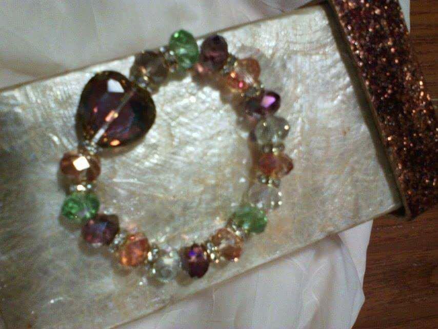 Bracciale cristalli multicolori Deborah