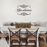 "Adesivo ""Chocolaterie"" per cucina"
