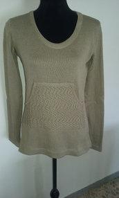 maglietta donna cotone o lana maglia